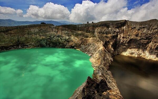 Lac de Kelimutu Indonésie