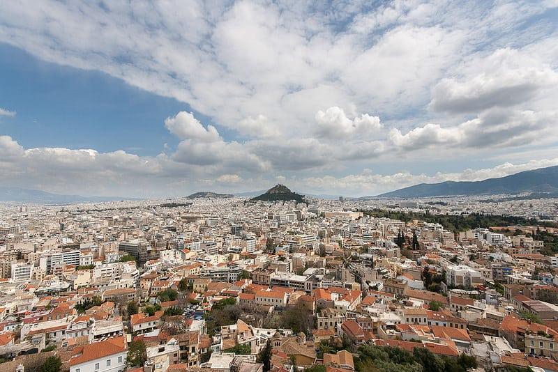 Mont Lycabette, Athènes