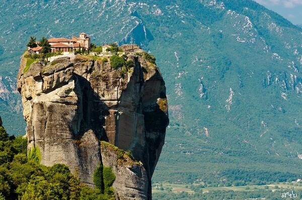 Les Monastères des Météores en Thessalie, Grèce