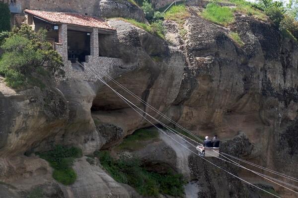 Câbles Monastères des Météores Grèce
