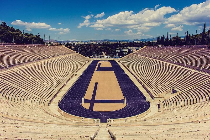 Stade des Panathénées, Athènes
