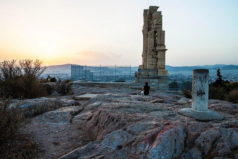 Colline des Muses, Athènes