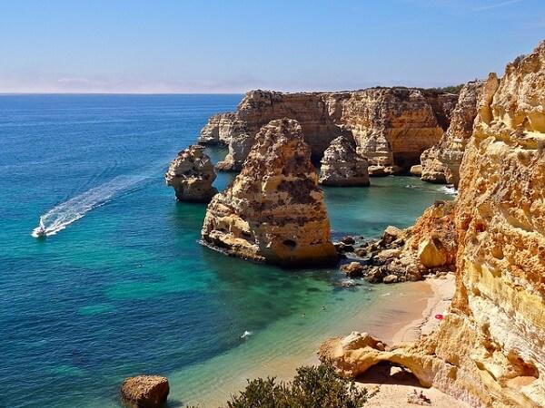 Praia da Marinha Albufeira Portugal