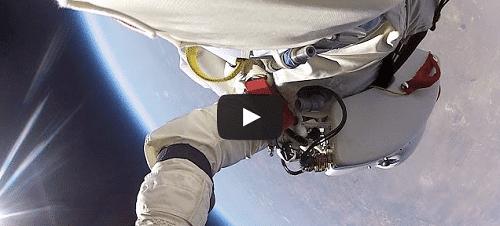 La vidéo complète et inédite de Felix Baumgartner