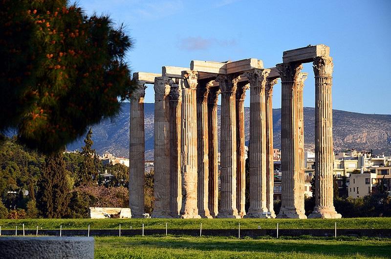Olympiéion, Temple de Zeus, Athènes