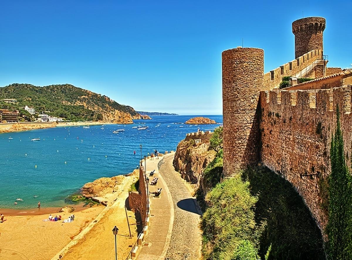 Tossa de Mar Costa Brava Espagne