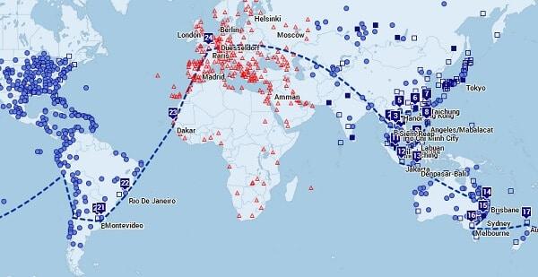 Tour du Monde - Budget