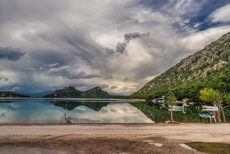 Lac Vouliagmeni, Athènes