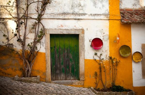 La cité médiévale d'Óbidos au Portugal