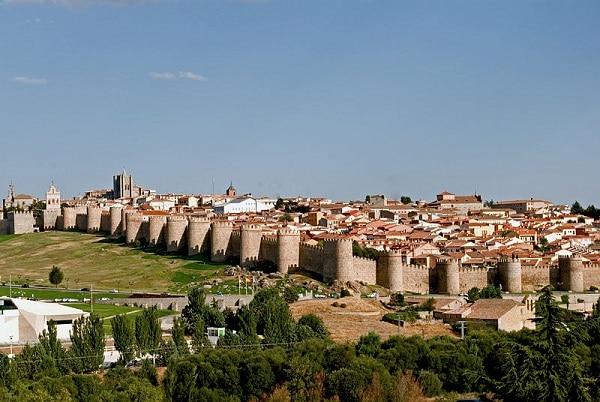 Ávila Espagne Remparts