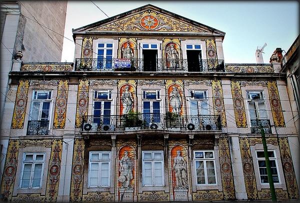 Azulejos Bairro Alto Lisbonne