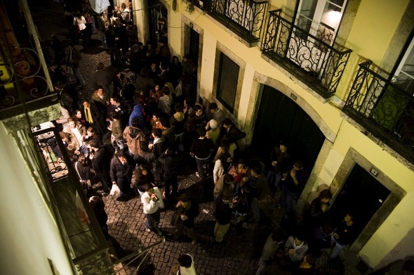 Nightlife Bairro Alto Lisbonne