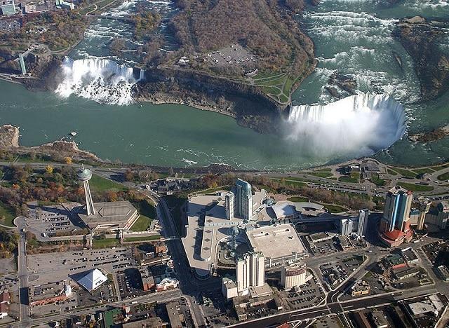 Chutes du Niagara Aérien