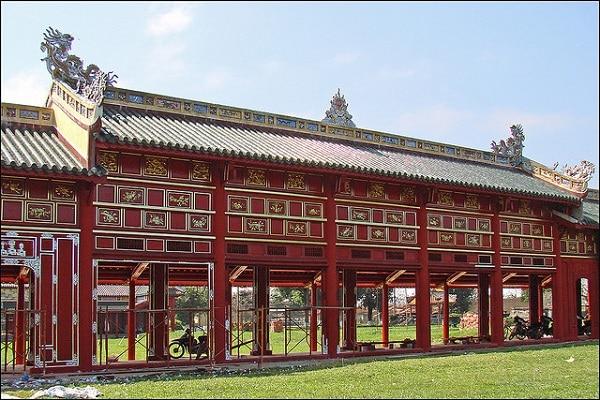 Cité Pourpre Interdite Hué Vietnam