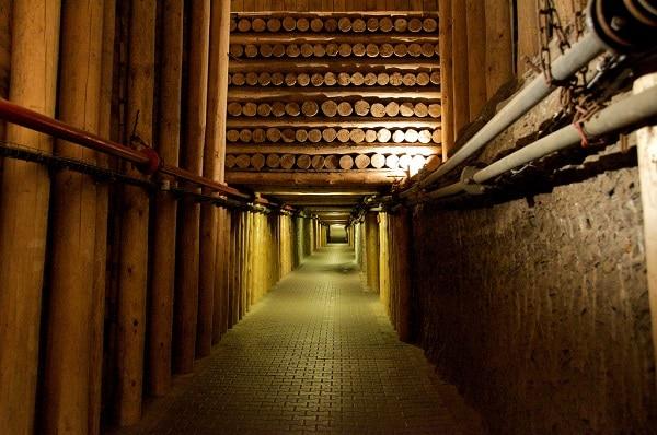 Couloir de la mine Wieliczka