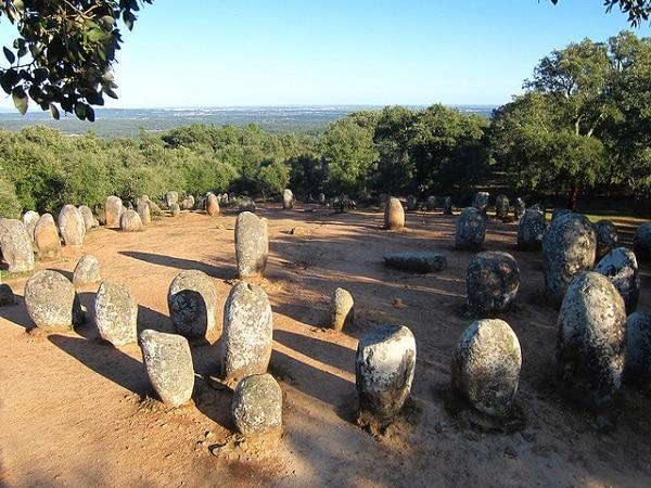 Cromlech Évora Portugal