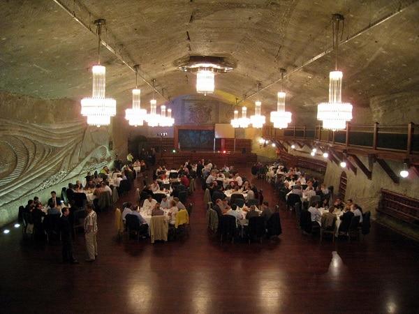 Diner à Wieliczka Cracovie