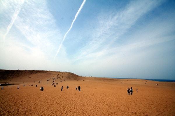 Les dunes de sables de Tottori au… Japon