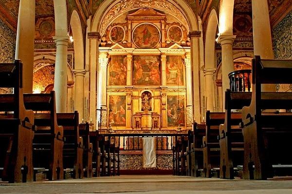 Eglise Santa Maria Óbidos Portugal
