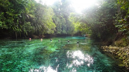 The enchanted river - Rivière enchantée - Philippines