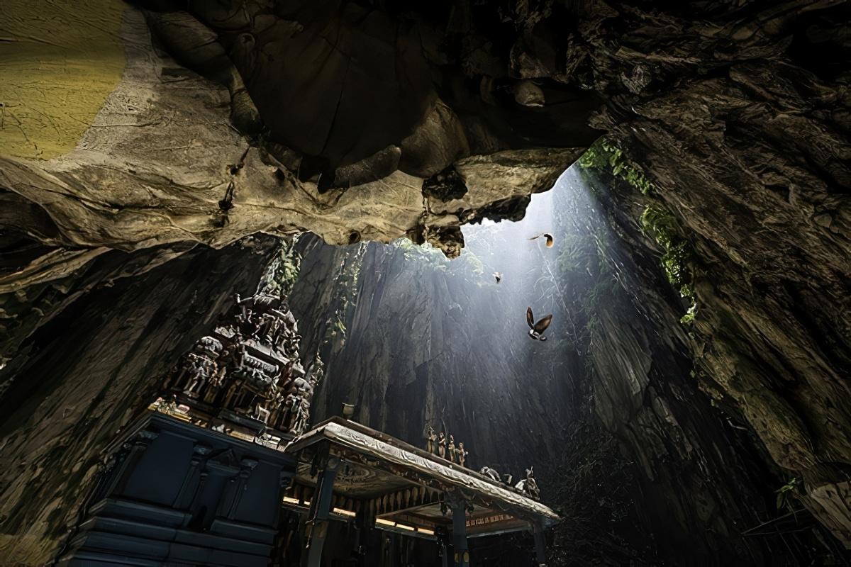 Visite des grottes de Batu en Malaisie