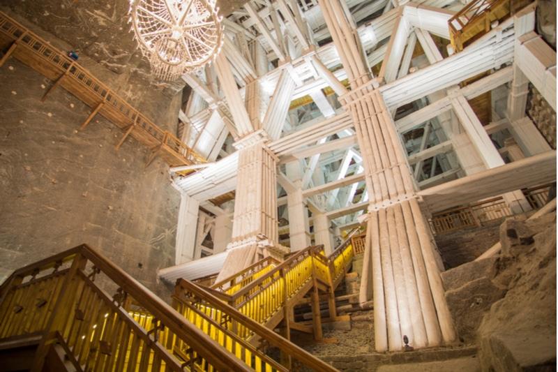 Histoire des Mines de sel de Wieliczka à Cracovie