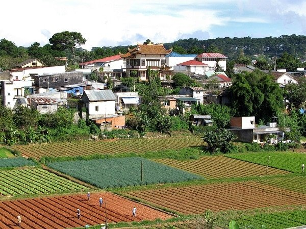 Jardins Dalat Vietnam