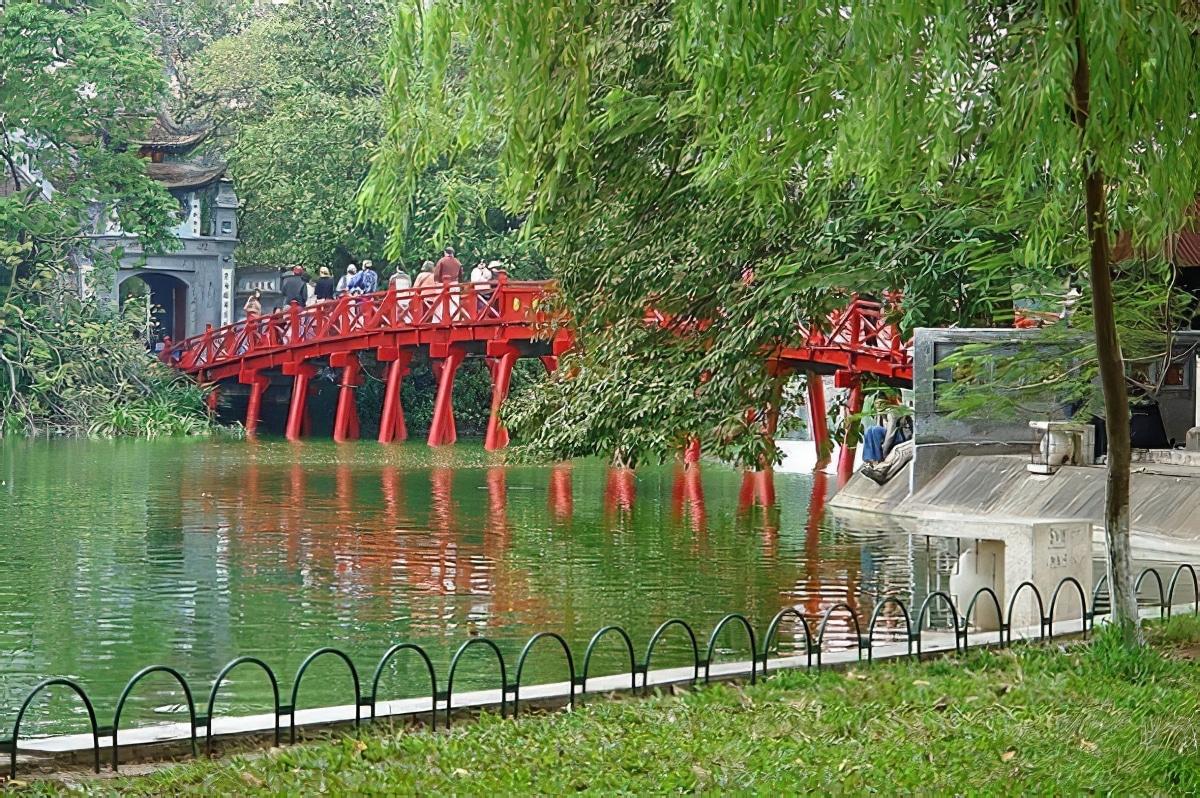 Lac Hoan Kiem Hanoi Vietnam