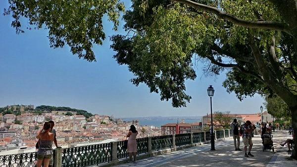 Miradouro Bairro Alto Lisbonne