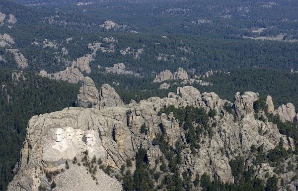 Mont Rushmore Etats-Unis