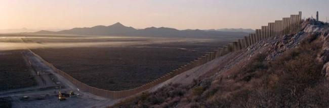 frontiere mur arizona