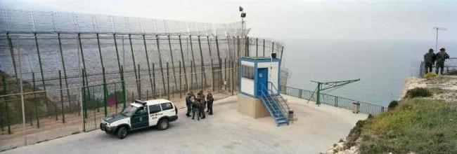 Mur à Melilla