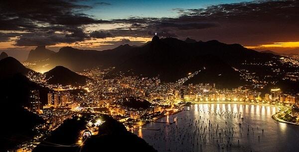 Pain de Sucre - Pão de Açúcar - Rio by night