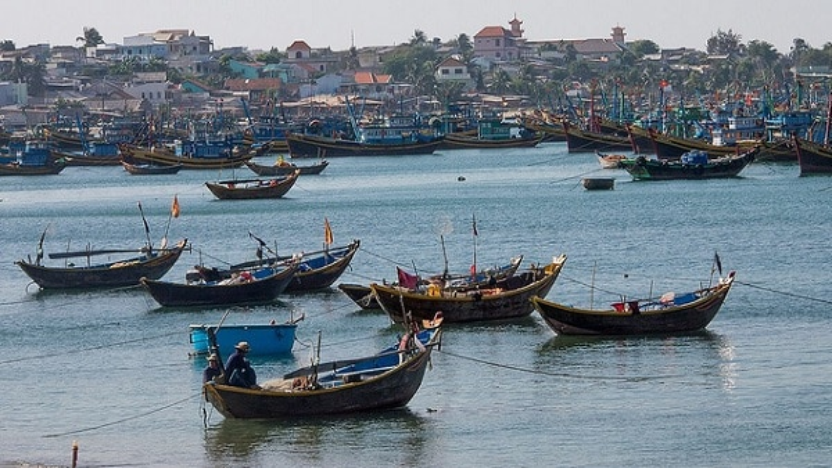 Bateaux pêcheurs Mui Ne