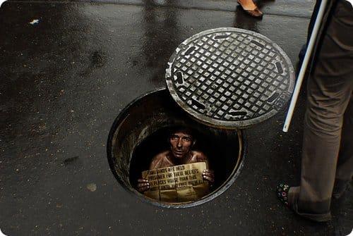 Des publicités de rues très créatives !