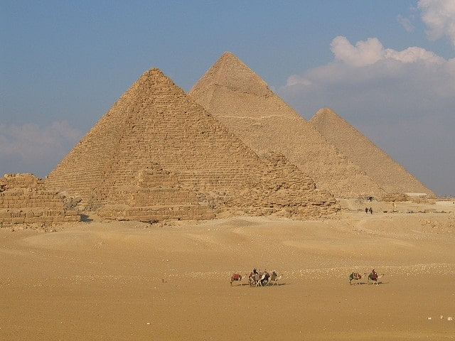 Pyramides de Giseh Egypte