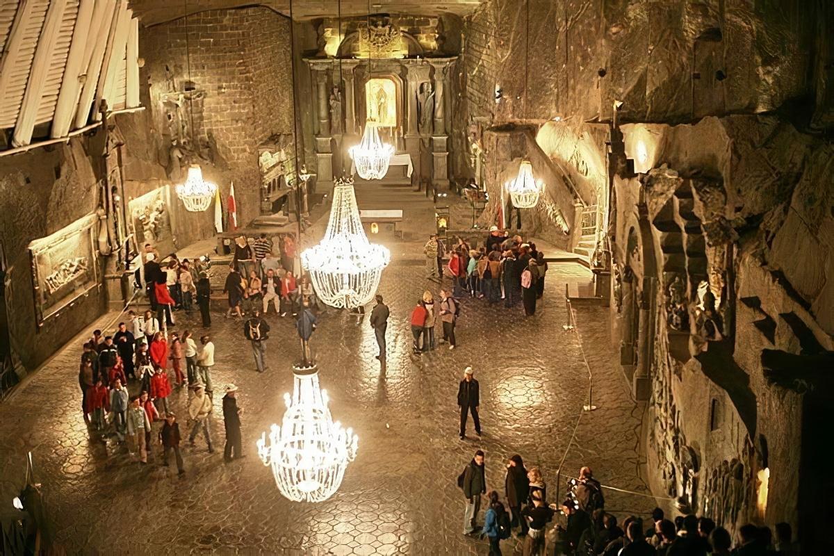 Visiter les mines de sel de Wieliczka à Cracovie