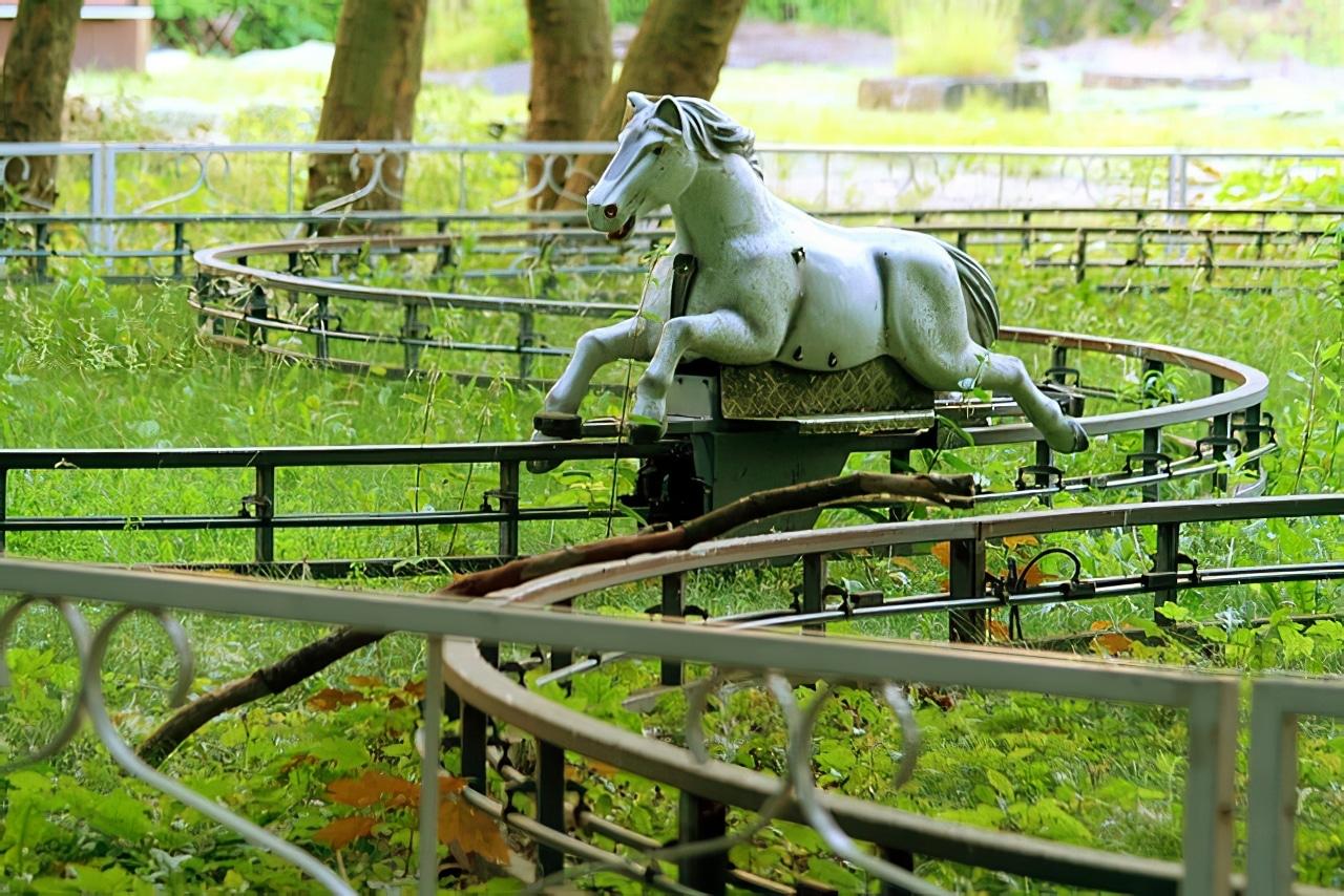 Spreepark, un parc d'attractions abandonné à Berlin