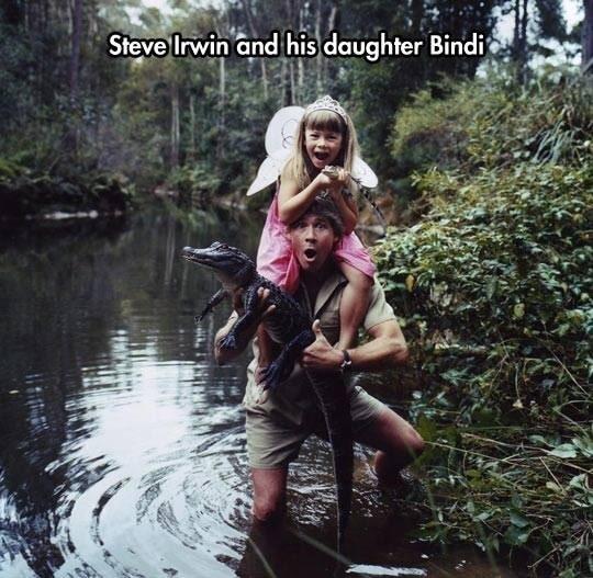 Steve Irwin Crocodile Australie
