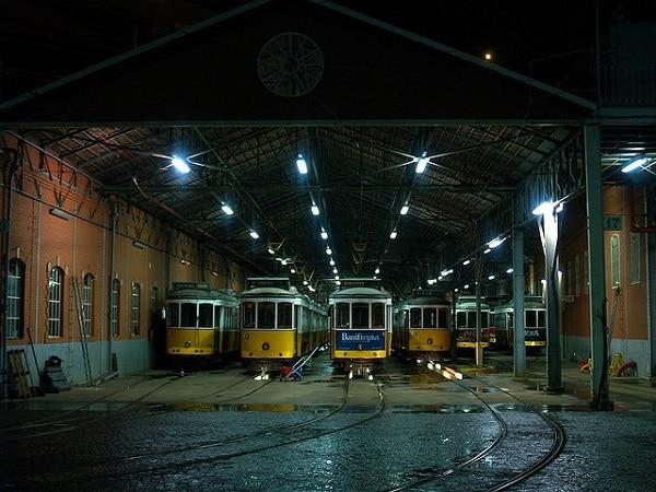 Dépôt Tramway 28 Lisbonne