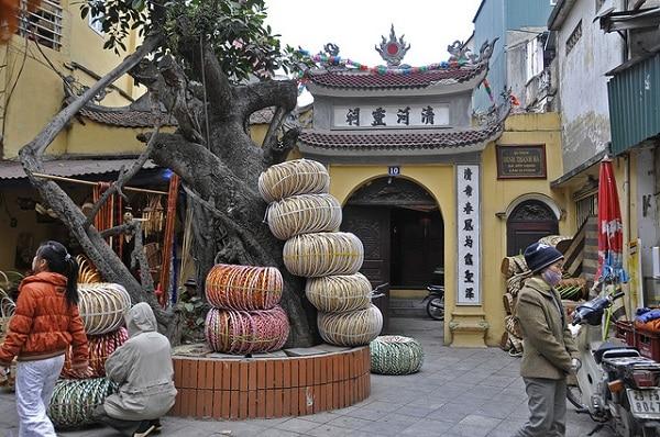 Vieux quartier Hanoi Vietnam