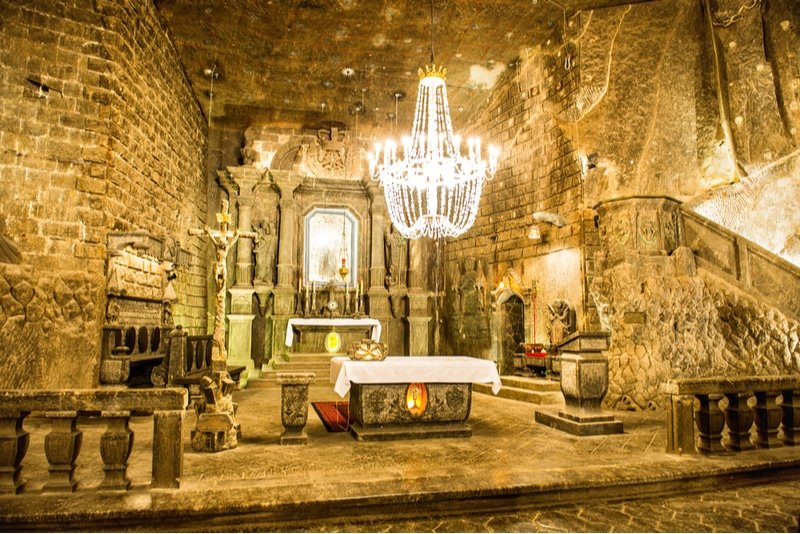 Que voir et faire aux mines de sel de Wieliczka