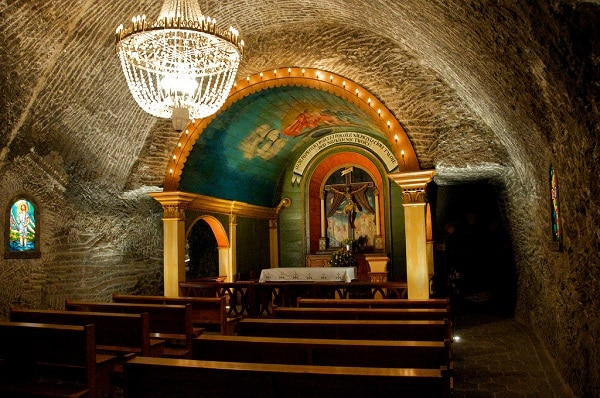 Mine de sel Wieliczka Cracovie