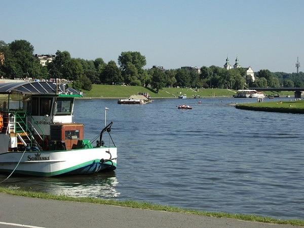 Wisla Cracovie rivière