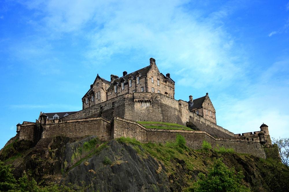 Château d'Édimbourg châteaux Ecosse
