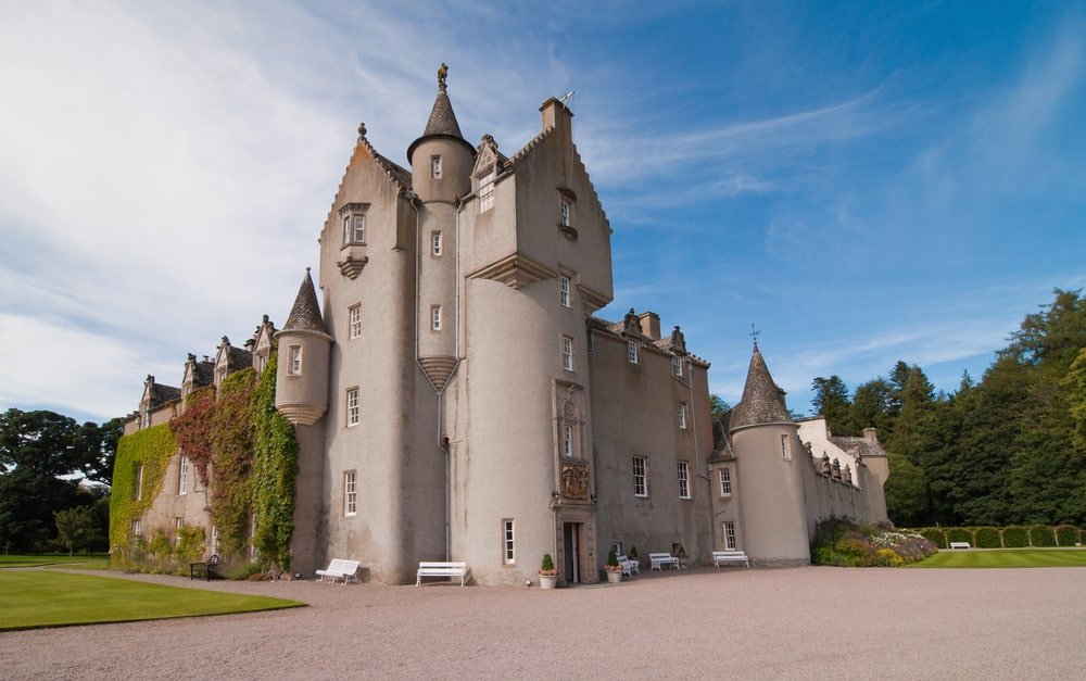 Château de Ballindalloch châteaux Ecosse