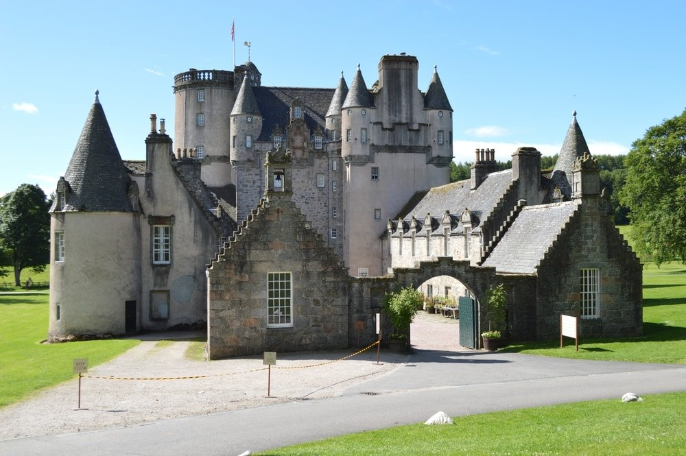 Château de Fraser châteaux Ecosse