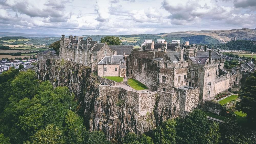 Château de Stirling châteaux Ecosse