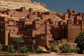 Le ksar de Aït-ben-Haddou au Maroc