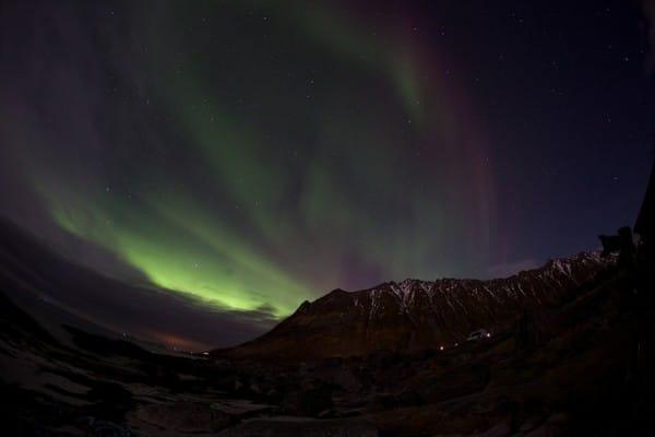Aurores Boreales Lofoten Norvège